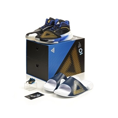 PEAK Qing Hui Limited Edition Andrew Wiggins Basketball Shoes & Taichi Slipper TE11733A