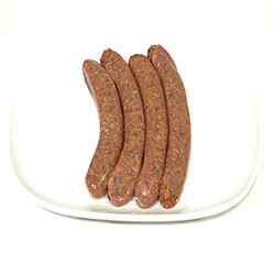 Gourmet Cracked Pepper & Worcestershire Beef Sausages