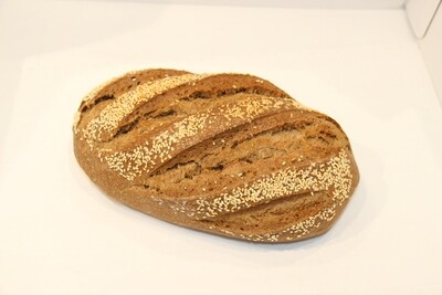 Rye Artisan Sourdough Free Form Loaf 700g
