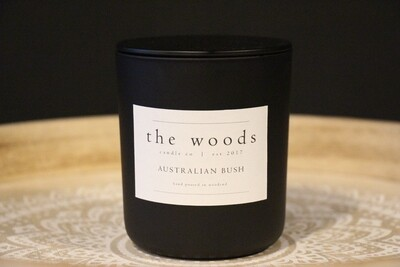 The Woods Candle Co - Australian Bush