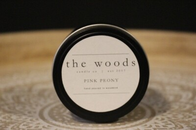 The Woods Candle Co - Pink Peony
