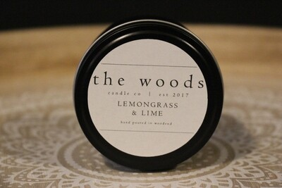 The Woods Candle Co - Lemongrass & Lime