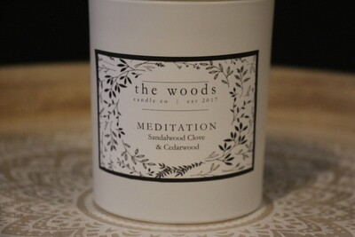 The Woods Candle Co - Meditation
