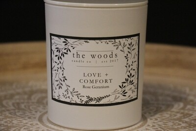 The Woods Candle Co - Love + Comfort