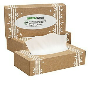 GreenCane Facial Tissue Box