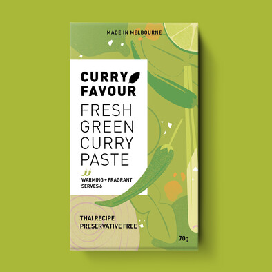 Fresh Green Thai Curry Paste