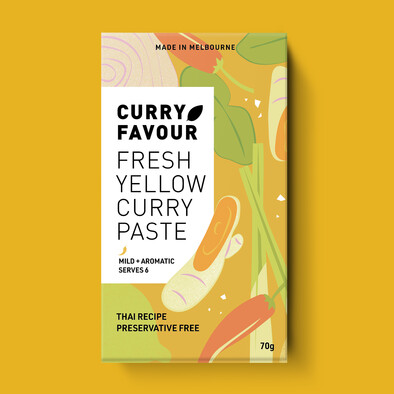 Fresh Yellow Curry Paste