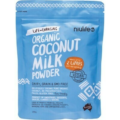 Organic Coconut Milk Powder 200g