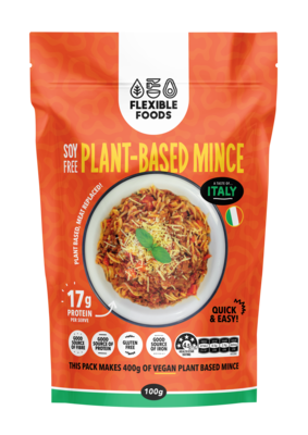 Soy Free Plant Based Mince - A Taste of Italy