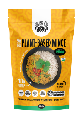 Soy Free Plant Based Mince - A Taste of India
