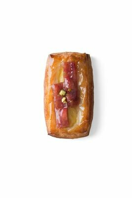 Rhubarb Danish - (Minimum order 4)
