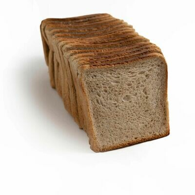 Rye 750g Sliced Square Tin Loaf - Noisette