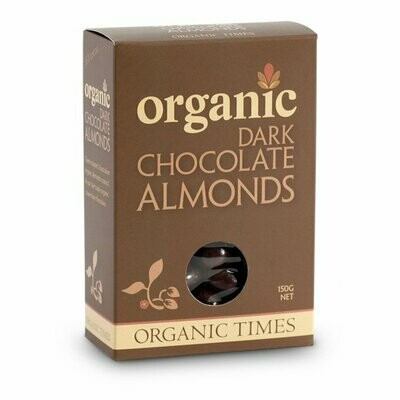 Organic Dark Chocolate Almonds