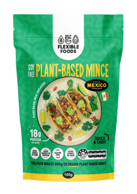 Soy Free Plant Based Mince - A Taste of Mexico