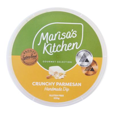 Crunchy Parmesan Dip