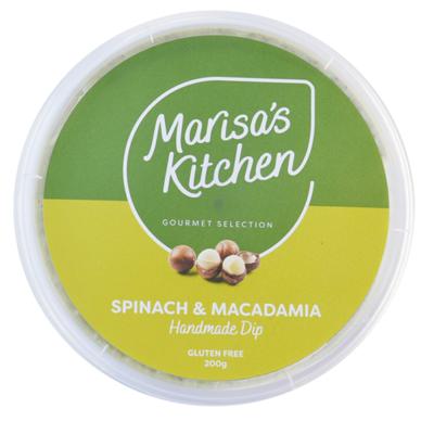 Spinach & Macadamia Dip