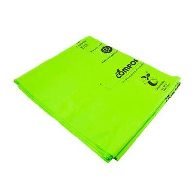 Compostable 80L Bin Liners