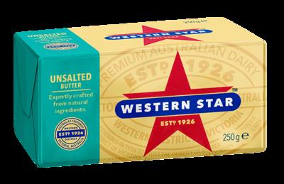 Unsalted Butter 250g