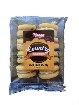 Butter Yoyos