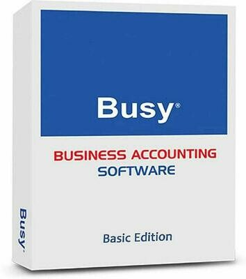 Busy Accounting Software Basic single user
