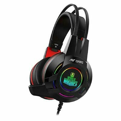 Ant Esports H550W Gaming Headset - Black - World of Warship License