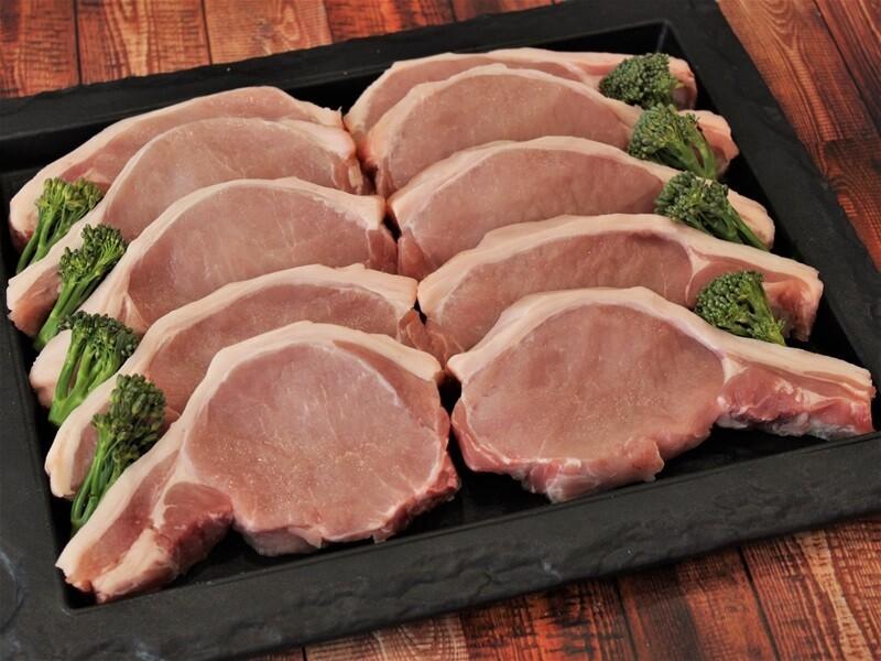 Pork Loin Steaks x 2