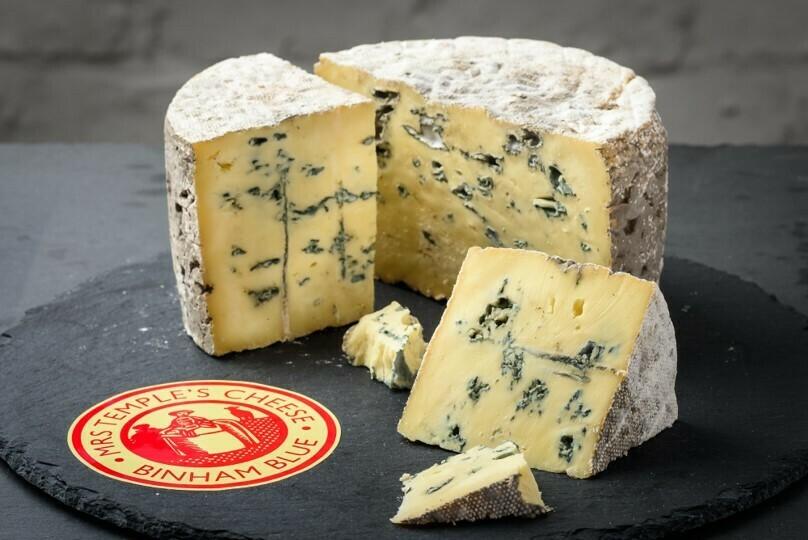 Mrs Temple's Binham Blue Cheese - 130g