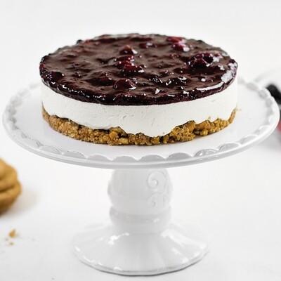 Torta Gelato Cheesecake con frutti rossi