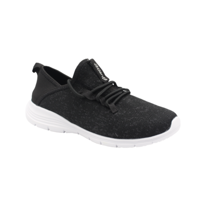 Womens Let's Run - Black