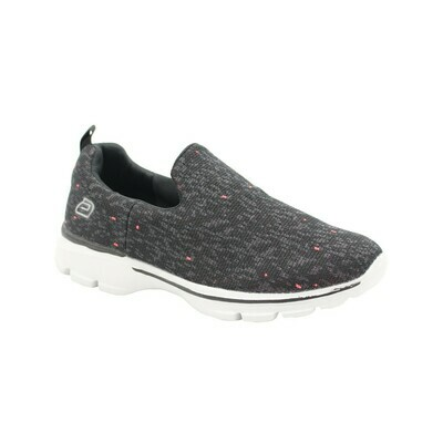 Womens Let's Walk -Black