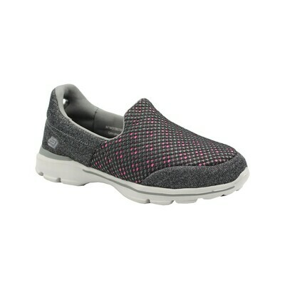 Womens Let's Walk -Grey/Pink