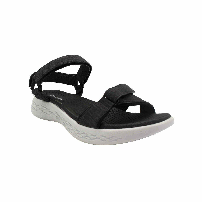 Atlanta Let's Walk Sandal - BLACK