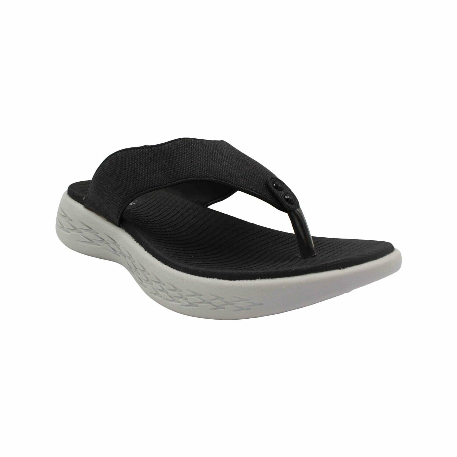 Atlanta Let's Walk Sandal - BLACK