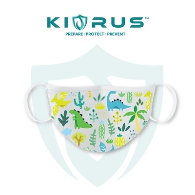 Atlanta X Kivrus 3 Layer Reusable Kids Face Mask