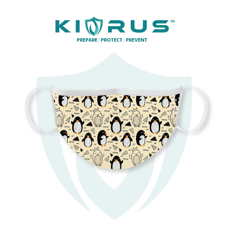 Atlanta X Kivrus 3 Layer Reusable Kids Face Mask