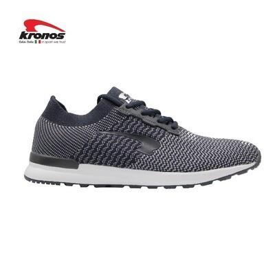 Kronos Men's ( LATIN ) Lightweight Shoe [ Grey/White ]