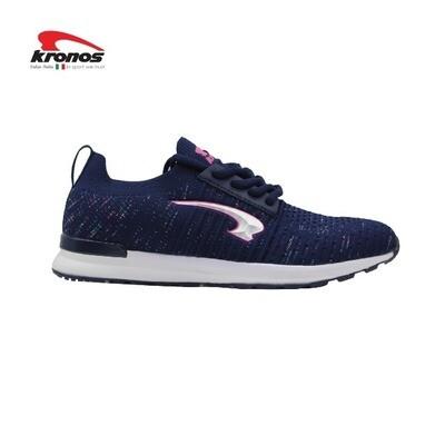 Kronos Women Limits Lifestyle Shoes (Navy/Pink)