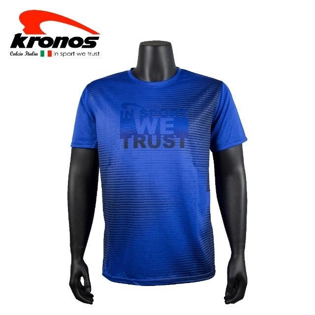 Kronos Round Neck T-Shirt [ STRIPE ]