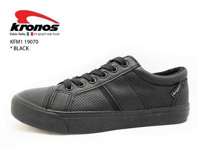 Kronos School Shoes Black ( Limited )