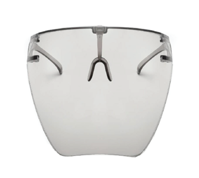 TRANSPARENT SAFETY PROTECTOR FACE SHIELD