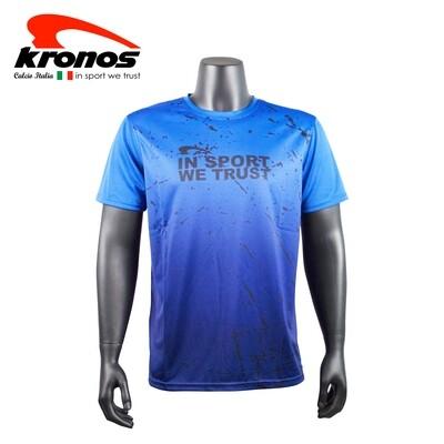 Kronos Round Neck T-Shirt   [ SPLASH ]