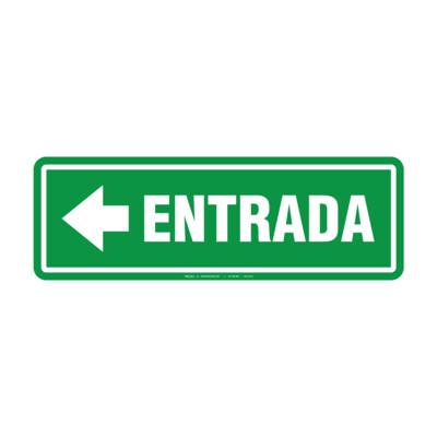 Rótulo - ENTRADA (CON FLECHA)