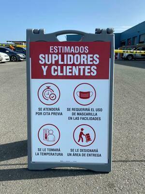 A-FRAME - ENTRADA DE CLIENTES Y SUPLIDORES
