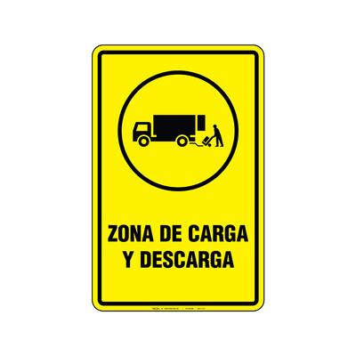 Rótulo - ZONA DE CARGA