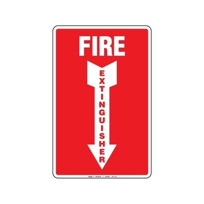 Rótulo - Fire Extinguisher