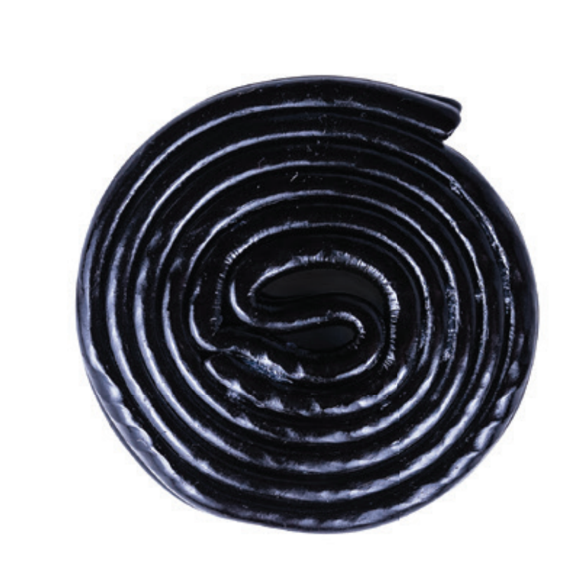Black Licorice Wheels 1/2 lb. Bag