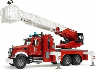 BRUDER; Module Mack Granite Fire Engine With Water Pump