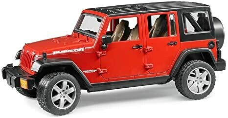 BRUDER; Jeep Wrangler Unlimited Rubican