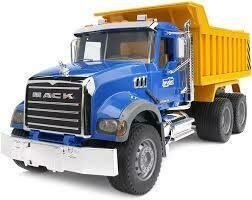 BRUDER; Mack Granite Dump Truck