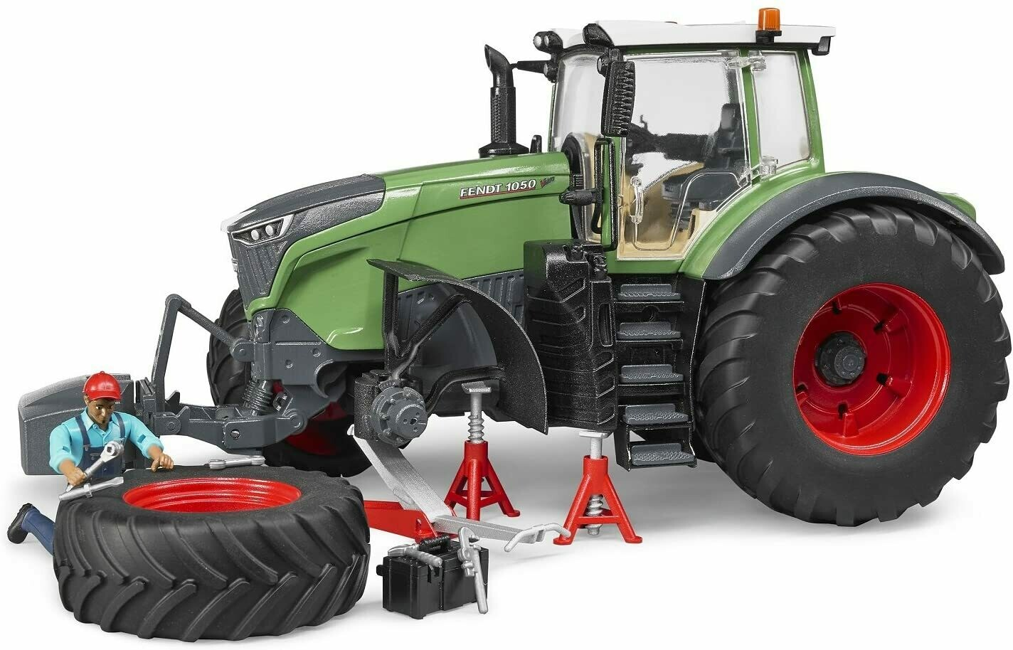 BRUDER; Fendt X 1000 Tractor W Repair Accessories